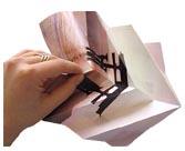 projet de r sidence made in paris fait en papier julie picard. Black Bedroom Furniture Sets. Home Design Ideas