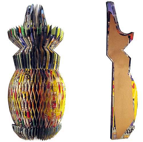 sculpture l 39 ananas julie picard. Black Bedroom Furniture Sets. Home Design Ideas
